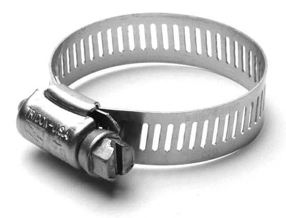 All Stainless Worm Drive Hose Clamps