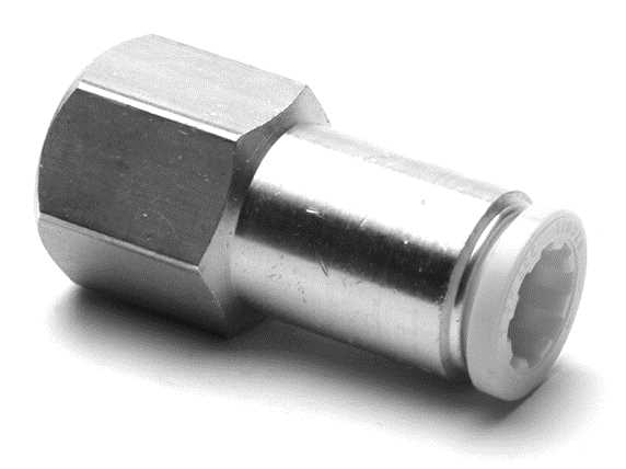 Push-In Female Tube Connectors